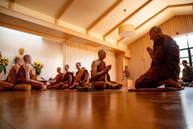 Sāmaṇera Dhammavaro's Bhikkhu Ordination on Sunday, May 17